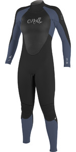 2019 O'Neill Womens Epic 5/4mm Back Zip GBS Wetsuit BLACK / Mist 4218