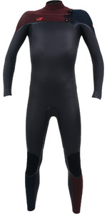 2019 O'Neill Youth Psycho One 5/4mm Chest Zip Wetsuit Raven / Widow / Abyss 4995