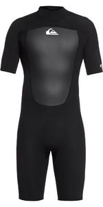 2019 Quiksilver 2mm Prologue Back Zip Shorty Wetsuit Black EQYW503010