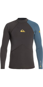 2019 Quiksilver Highline Plus 2mm Neoprene Top Blue Steel EQYW803017
