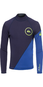 2019 Quiksilver Junior Syncro Series 1mm Neoprene Top Nite Blue EQBW803003