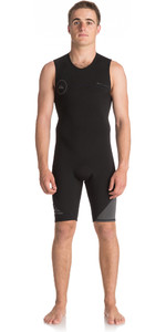 2019 Quiksilver Syncro Series 2mm Short John Wetsuit Black EQYW603001
