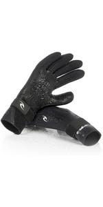 2020 Rip Curl E-Bomb 2mm 5 Finger Neoprene Glove Black WGL5SE
