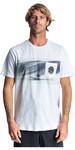 2019 Rip Curl Mens Action Original Surfer T-Shirt Optical White CTEDA5