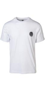 2019 Rip Curl Mens Original Surfer Wetty T-Shirt White CTECZ5