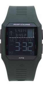 2019 Rip Curl Rifles Tide Surf Watch in Military Green A1119