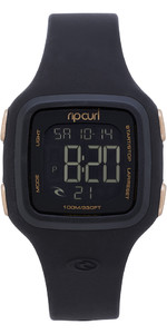 2019 Rip Curl Womens Candy2 Digital Silicone Watch Rose Gold A3126G