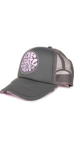 2019 Rip Curl Womens Wetty Logo Trucker Cap Nine Iron GCADD1