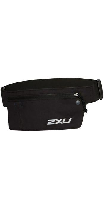 2020 2XU Run Belt UQ5360G - Black