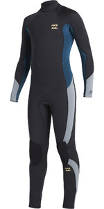 2020 Billabong Junior Boys Absolute 5/4mm Back Zip Wetsuit U45B12 - Antique Black
