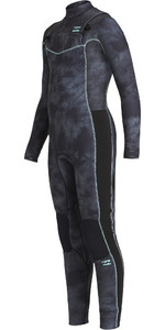 2020 Billabong Junior Boys Revolution 5/4mm Chest Zip Wetsuit U45B11 - Black Tie Dye