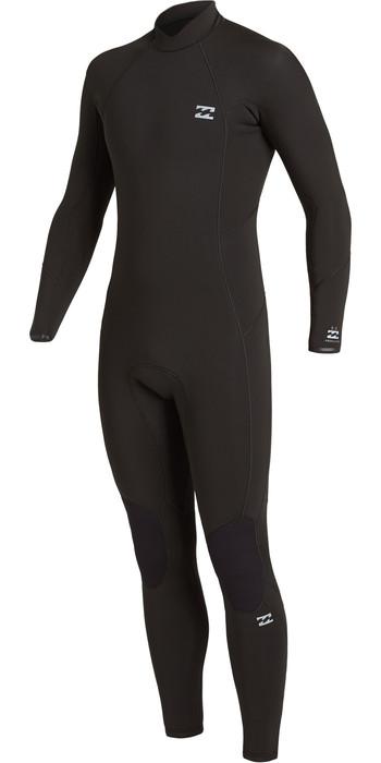 2020 Billabong Mens Absolute 4/3mm Back Zip GBS Wetsuit U44M59 - Black