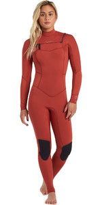 2020 Billabong Womens Salty Dayz 5/4mm Chest Zip Wetsuit U45G30 - Sienna