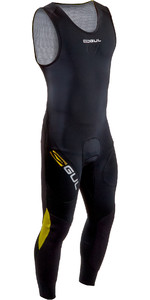 2020 GUL Mens Code Zero 3mm Long John Wetsuit CZ4207-B7 - Black