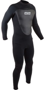 2020 GUL Mens 3/2mm Response Back Zip Wetsuit RE1231-B7 - Black