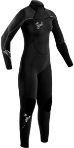 2020 GUL Womens Response 4/3mm Back Zip Wetsuit RE1248-B7 - Black