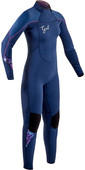 2020 GUL Womens Response 4/3mm Back Zip Wetsuit RE1248-B7 - Ink Blue