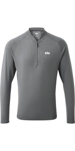 2020 Gill Mens Millbrook Zip T-Shirt 1107 - Steel Grey