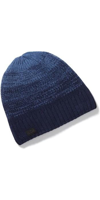 2021 Gill Ombre Knit Beanie HT47 - Dark Blue