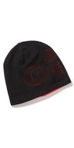2021 Gill Reversible Knit Beanie HT48 - Black / Orange