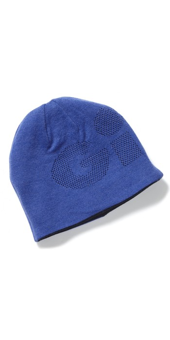 2021 Gill Reversible Knit Beanie HT48 - Blue / Navy
