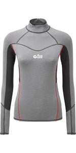 2020 Gill Womens Eco Pro Rash Vest 5025W-GRE18 - Grey Melange
