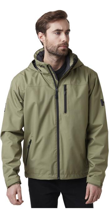 2020 Helly Hansen Mens Hooded Crew Mid Layer Jacket 33874 - Lav Green