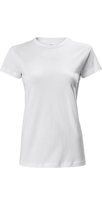 2021 Musto Womens MF T-Shirt 80659 - White