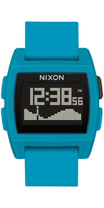 2020 Nixon Base Tide Watch A1104 - Blue Resin