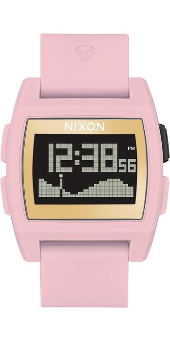 2020 Nixon Base Tide Watch A1104 - Soft Pink / Gold