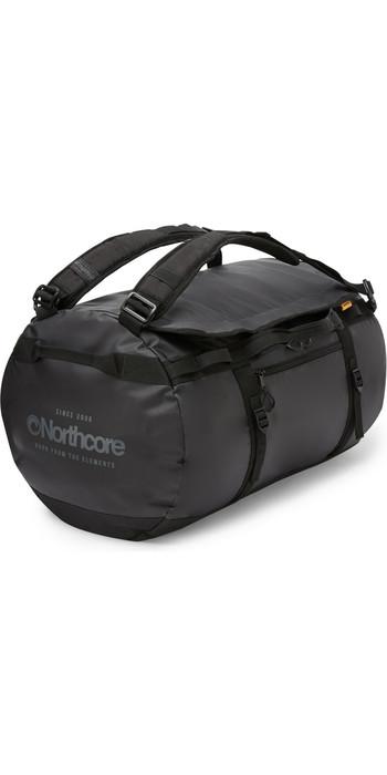 2020 Northcore Duffel Bag 85L NOCO123B - Black / Grey