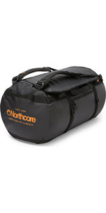 2020 Northcore Duffel Bag 85L NOCO123BB - Black / Orange