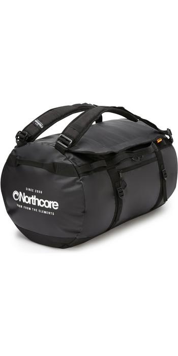 2020 Northcore Duffel Bag 40L NOCO123AC - Black / White