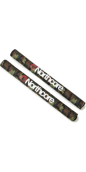 2020 Northcore Roof Rack Wide Load 72cm Pads NOCO21BB - Camo