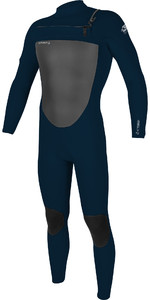 2020 O'Neill Mens Epic 4/3mm Chest Zip Wetsuit 5354 - Abyss