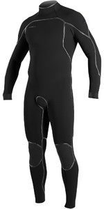 2020 O'Neill Mens Psycho One 4/3mm Back Zip Wetsuit 5419 - Black