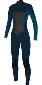 2020 O'Neill Womens Epic 5/4mm Chest Zip GBS Wetsuit 5371 - Abyss / French Navy