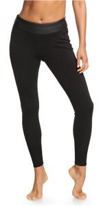 2020 Roxy Womens Satin Capri B-LCK 1mm Neoprene Trousers ERJWH03017 - Black