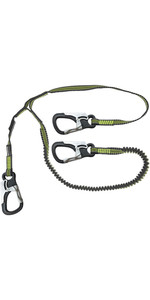 2020 Spinlock 3 Clip Elasticated Performance Line DWSTR03 - Black