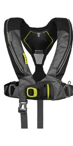 2020 Spinlock Deckvest 6D 170N Lifejacket DWLJH - Black