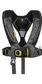 2021 Spinlock Deckvest 6D 170N Lifejacket w /  HRS System DWLJH6D - Black