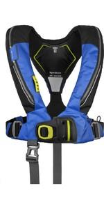 2020 Spinlock Deckvest 6D 170N Lifejacket w /  HRS System DWLJH6D - Blue