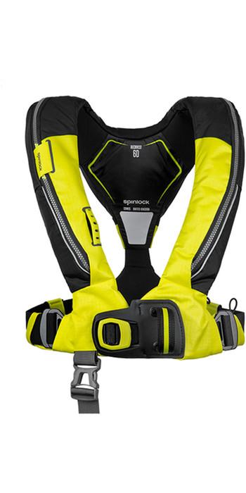2021 Spinlock Deckvest 6D 170N Lifejacket DWLJH - Yellow