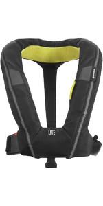 2021 Spinlock Deckvest LITE Lifejacket Harness DWLTE - Black