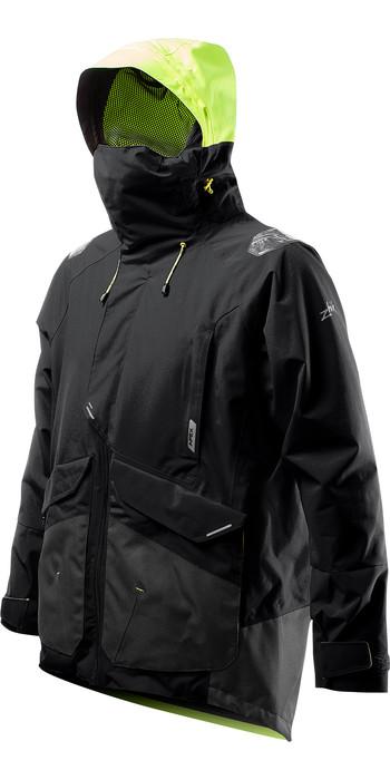 2021 Zhik Mens Apex Offshore Sailing Jacket JKT0450 - Anthracite Black
