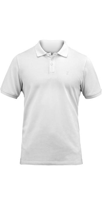 2020 Zhik Mens Premium Polo POL0150 - White