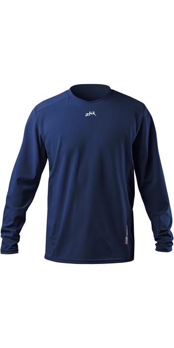 2020 Zhik Mens XWR Water Repellent Long Sleeve T-Shirt ATE0093 Steel Blue