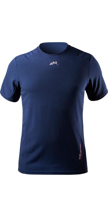 2021 Zhik Mens XWR Short Sleeve Water Repellent T-Shirt ATE0096 Steel Blue