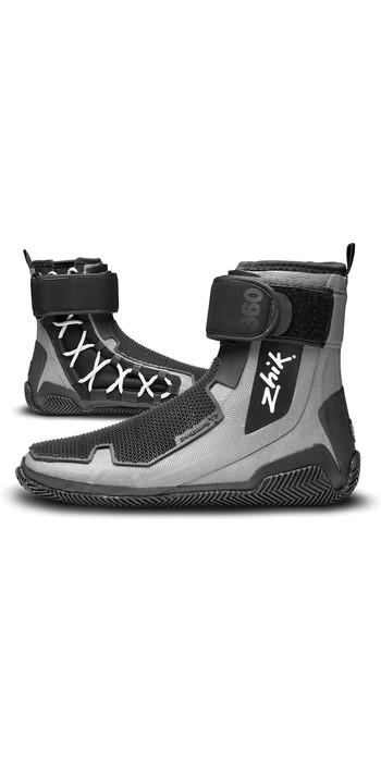 2021 Zhik ZhikGrip 2 Neoprene Hiking Sailing Boots BOOT360 - Grey / Black