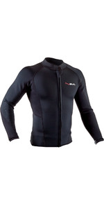 2020 GUL Mens  Response Flatlock Neoprene Jacket RE6304-B7 - Black